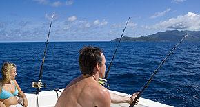 Hochseefischen auf den Seychellen