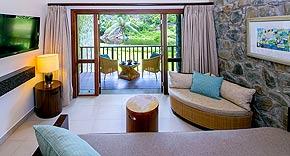 Hillview Room vom Kempinski Seychelles Resort, Seychellen