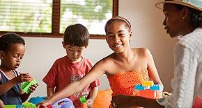 Kidsclub vom Kempinski Seychelles Resort & Spa, Seychellen
