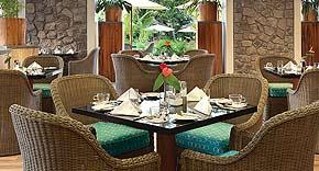 Cafe Lazare vom Kempinski Seychelles Resort & Spa, Seychellen