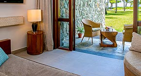 Sea View Garden Room vom Kempinski Seychelles Resort &
