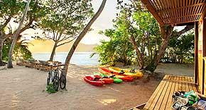 Wassersport beim Kempinski Seychelles Resort & Spa, Seychellen