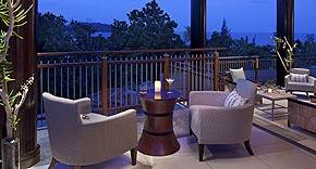 Danzil Bar & Lounge vom Raffles Seychelles, Praslin