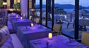 Restaurant Losean im Raffles Seychelles, Praslin