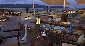 Restaurant Takamaka im Raffles Seychelles, Praslin