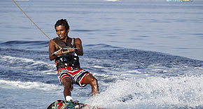 Sportaktivitäten im Banyan Tree Vabbinfaru, Malediven