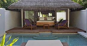 Island Villa auf der Insel Coco Bodu Hiti, Malediven