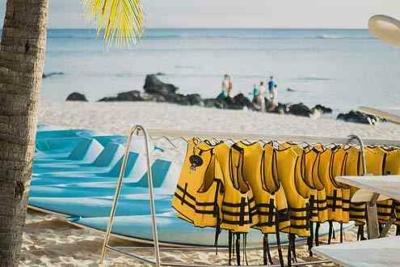 Kanu fahren auf Mauritius