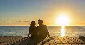 Honeymoon im Paradies