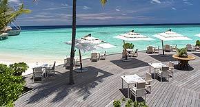Restaurant Ocean auf Milaidhoo, Malediven