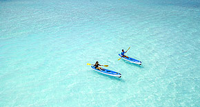 Aktivitäten auf Milaidhoo, Malediven