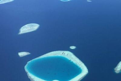 Atolle Malediven