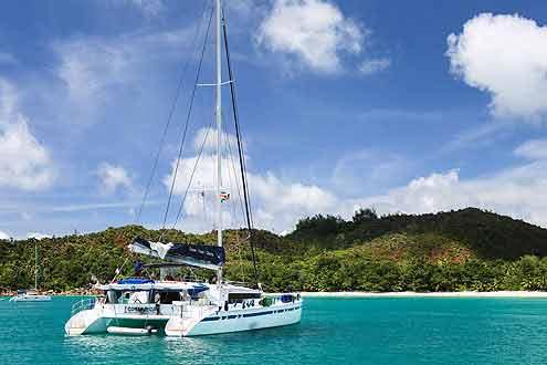 Segeltoern Mojito Seychellen