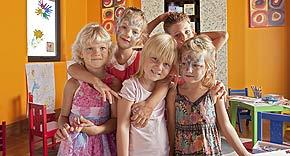 Kidsclub vom Raffles Seychelles Praslin, Seychellen