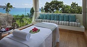 Spa vom Raffles Seychelles Praslin, Seychellen