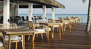 Restaurant Thari auf Noku Maldives