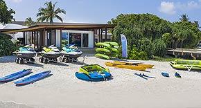 Dive Center vom Westin Maldives Miriandhoo