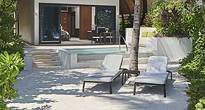 Beach Pool Villa vom Westin Maldives Miriadhoo