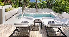 Deluxe Beach Villa vom Westin Maldives Miriandhoo