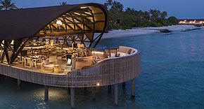 Restaurant Pearl vom Westin Maldives Miriandhoo