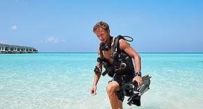 Tauchen Euro Divers auf Amari Havodda Maldives