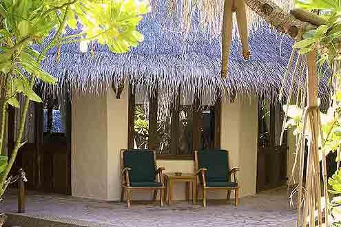 bevorstehende Renovation der Deluxe Villa auf der Insel Coco Palm Dhuni Kolhu