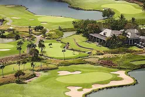 Golfplatz vom Heritage Awali Golf Mauritius