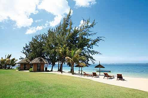 Strand beim Heritage Awali Golf Mauritius
