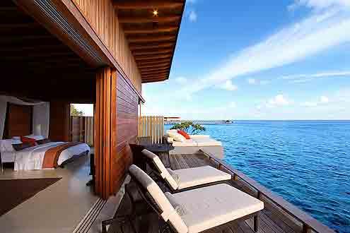 fantastischer Ausblick auf den Indischen Ozean