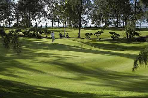 einer der schönsten Golfplätze auf Mauritius