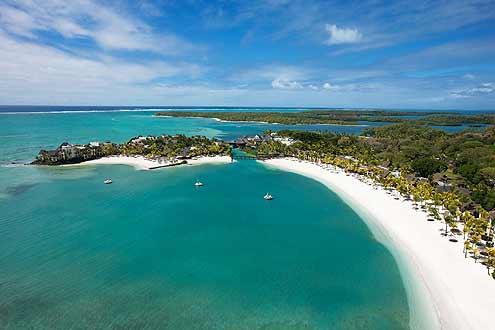 einer der schönsten Strände auf Mauritius