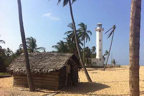 wunderschöne Stadt Galle in Sri Lanka
