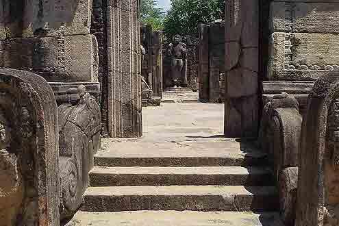 Polonnaruwa auf Sri Lanka