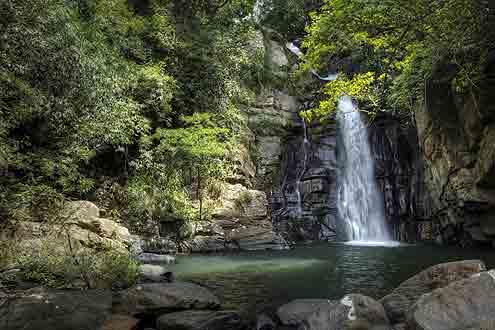 Wasserfall auf Sri Lanka
