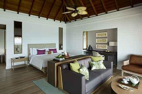 Deluxe Beach Pool Villa auf der Insel Dusit Thani Maldives - Malediven