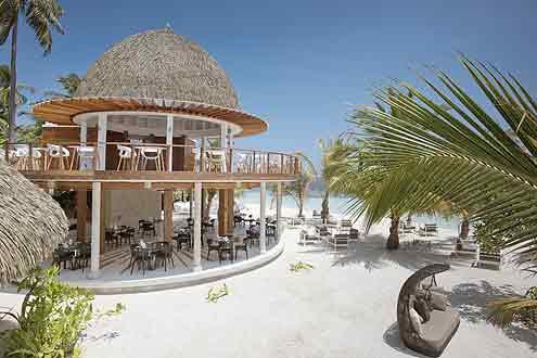 Restaurant Olive auf der Insel Kandolhu Malediven