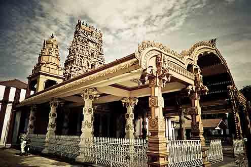Tempel in Kandy